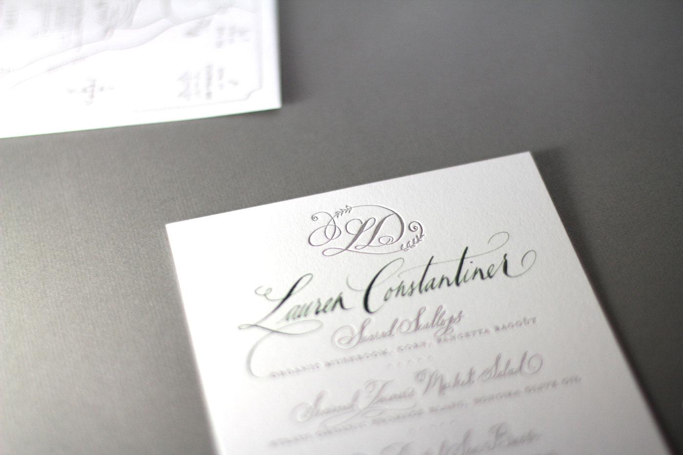 Dallas Calligraphy and Dallas Wedding Invitations • Tara Jones ...