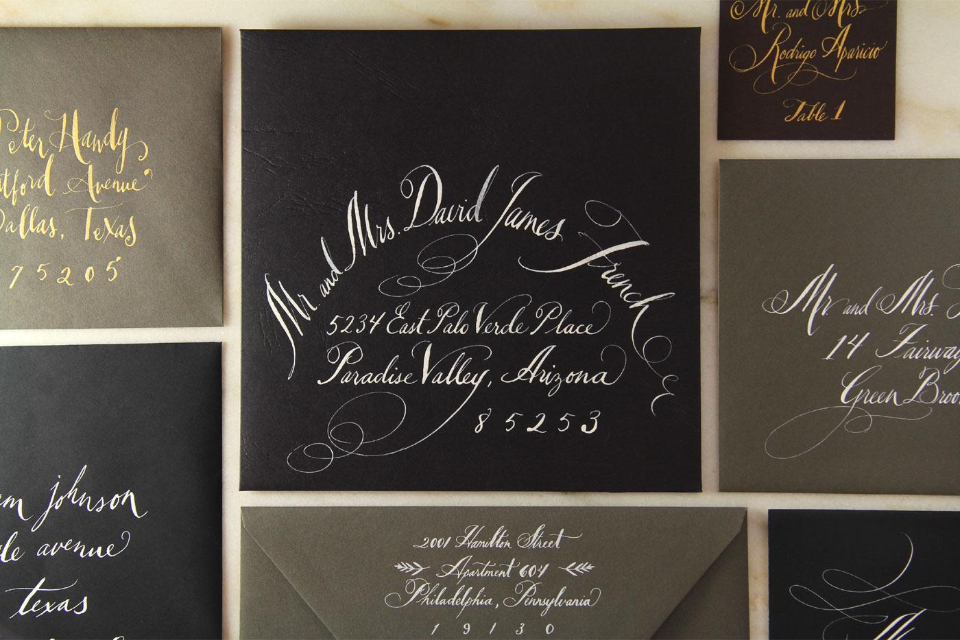 dallas calligraphy and dallas wedding invitations tara jones